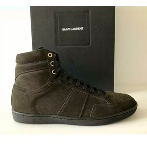 SAINT LAURENT SL/10H YSL HIGH TOP SNEAKERS 40 - 7